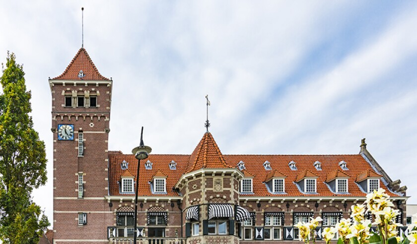 Town hall of Zeist, The Netherlands