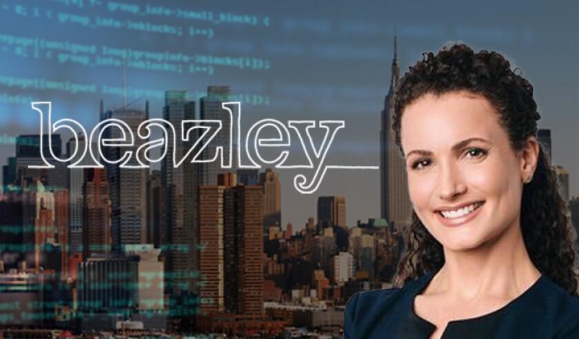 Beazley logo NY cyber with Patricia Kocsondy.jpg