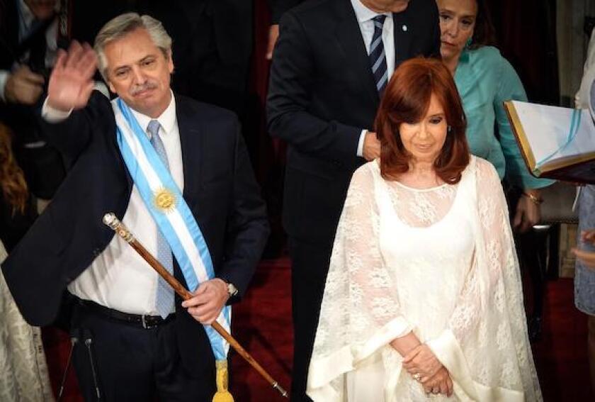 Cristina fernandez de Kirchner, Alberto Fernandez, Argentina, presidents, vice presidents, Alamy, 575, LatAm