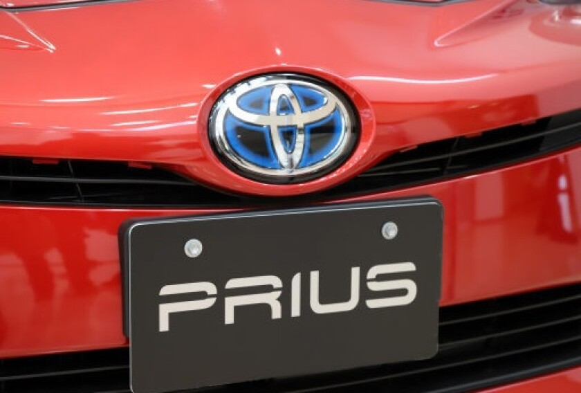 Toyota Prius hybrid transition car from PA 13Mar20