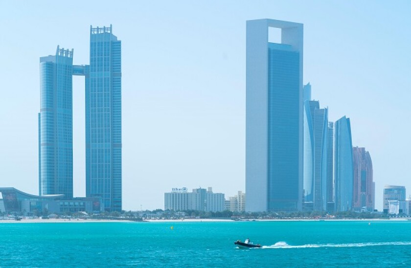The St. Regis Abu Dhabi Hotel, ADNOC (Abu Dhabi National Company) Headquarters Building, 342 metres, The highest building in the world with an