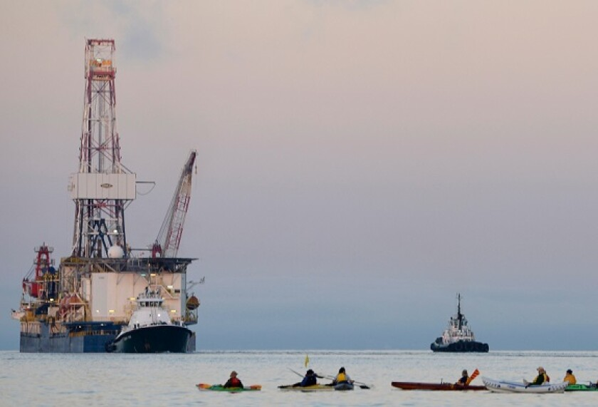 Arctic oil drilling from Alamy 14Oct21 575x375