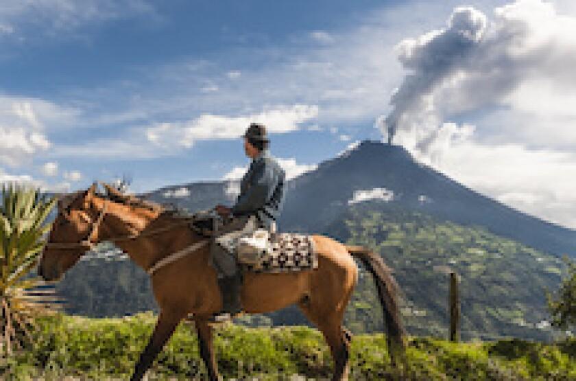 Ecuador, LatAm, mountain, strong, Tungurahua