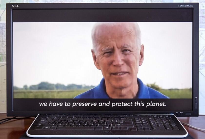 Joe Biden climate environment from PA 20Aug20 575x375