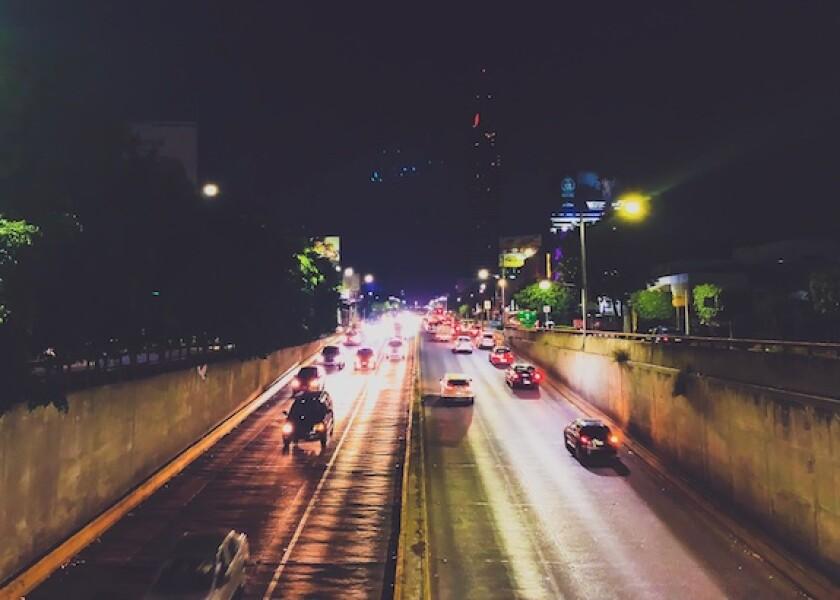 Mexico City, cars, Nemak, light, vehicles, aluminium, night, 575, latAm