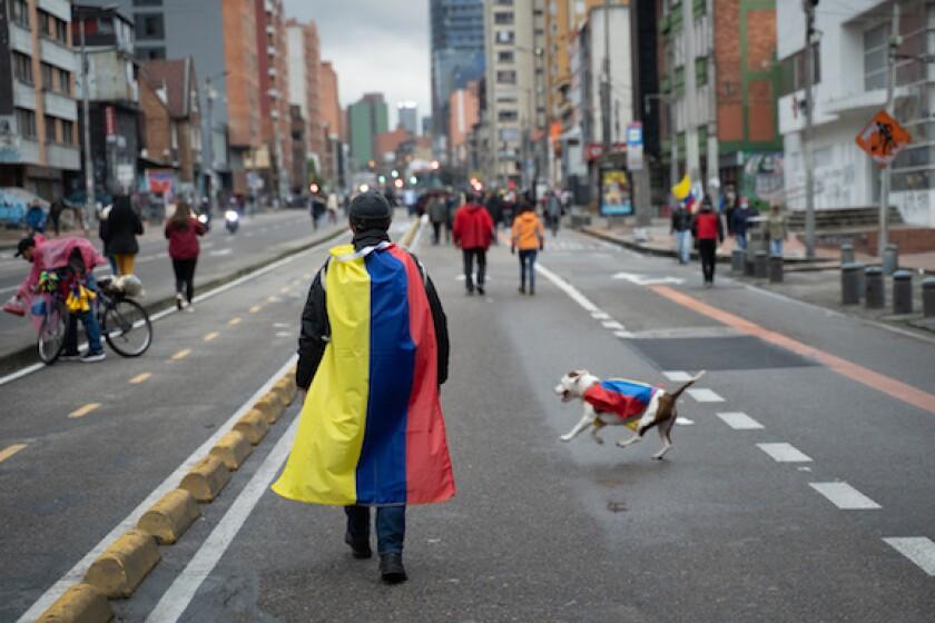 Bogota, Colombia, protest, LatAm, paro, 575