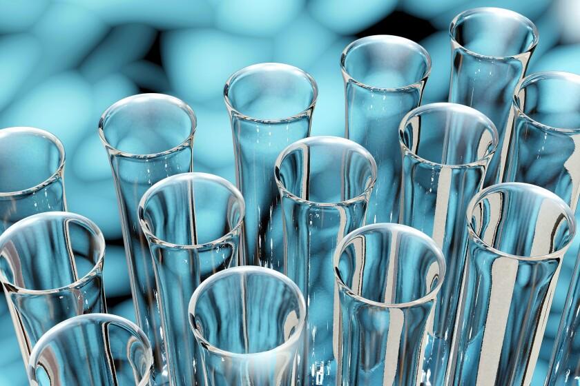 Reagenzglas - 3d Render