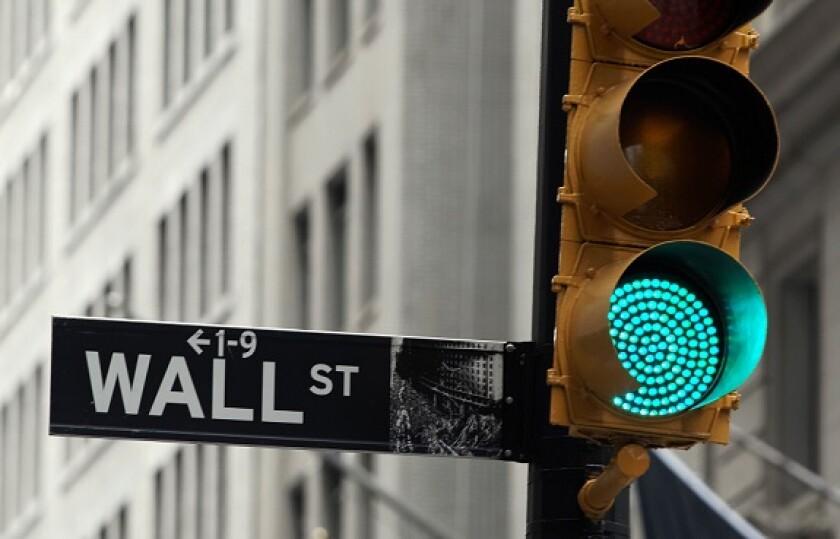 Wall street green light from Alamy 17Jun21 575x375