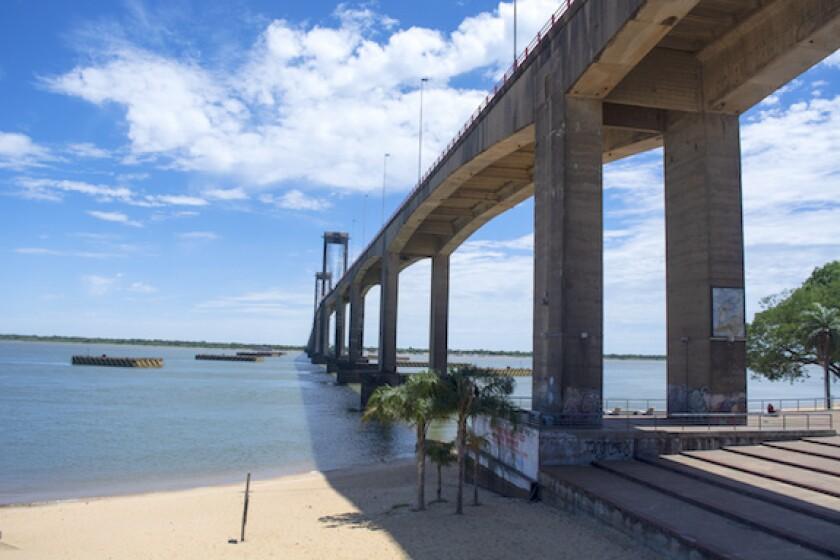 Puente General Belgrano, Chaco, Corrientes, LatAm, Argentina, 575