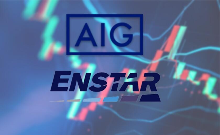 AIG Enstar logos stock market graph.jpg