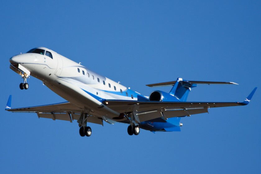 Embraer, Brazil, corporate jet, LatAm, 575