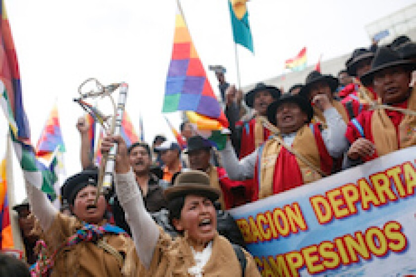 Bolivia, protest, Evo Morales, Jeanine Anez, coup, social unrest, elections, lAtAm