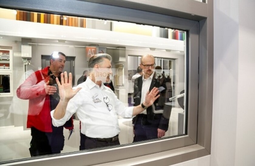 Profine company windows PVC 575x375