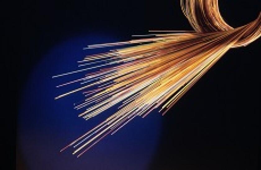 Orange fibre optic cable 230x150