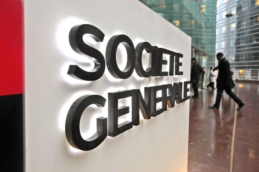 HEADQUARTERS OF THE SOCIETE GENERALE IN LA DEFENSE