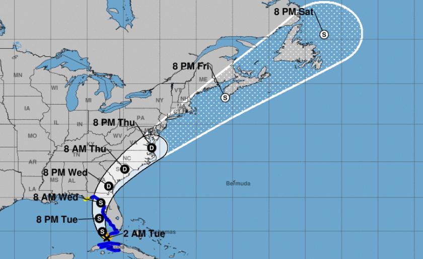 NHC_Storm_Elsa_weather_map July 6 2021.png