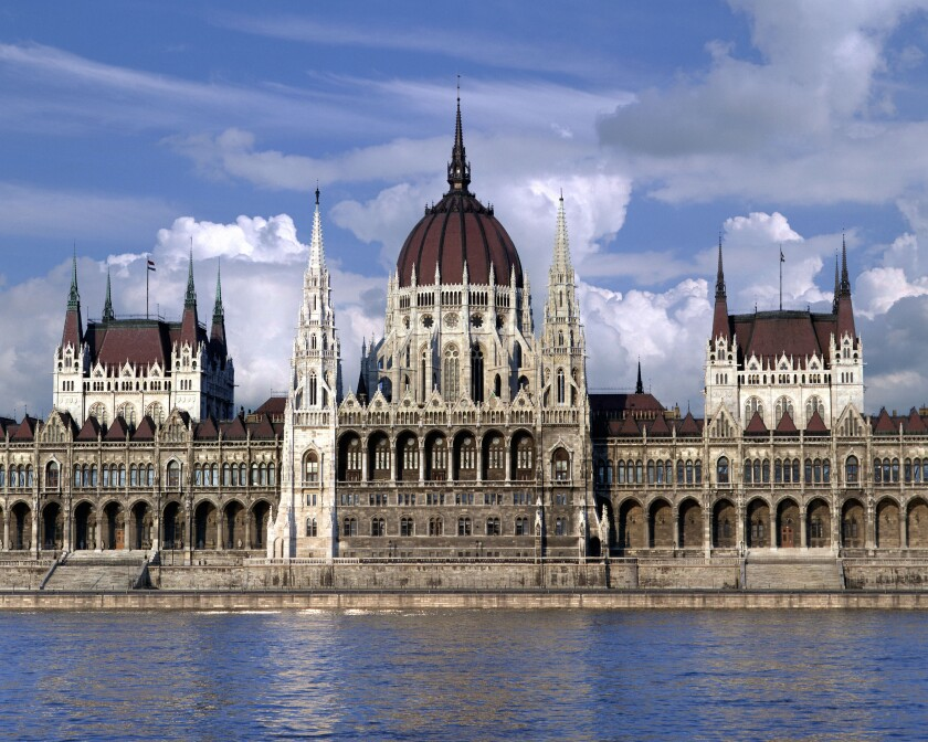 HU - BUDAPEST:  The Hungarian Parliament
