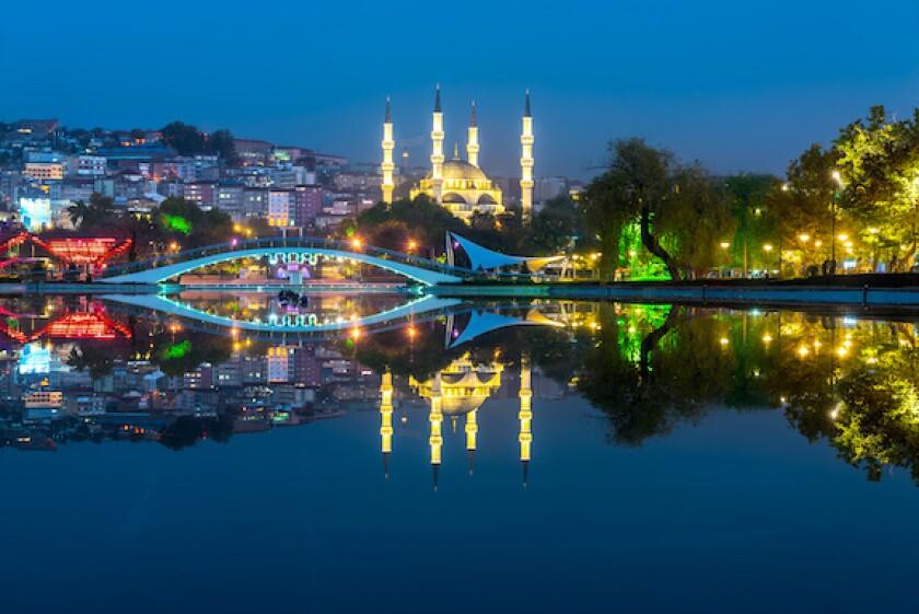Turkey, Ankara, Melike Hakun mosque, CEEMEA, 575