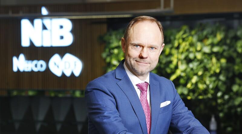 NIB - president of NIB André Küüsvek 23.2.2021
