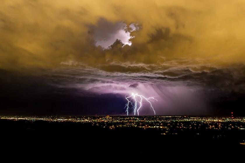 Lightning and Thunder Storm