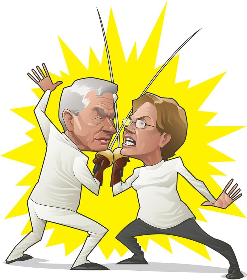 Warren vs Dimon