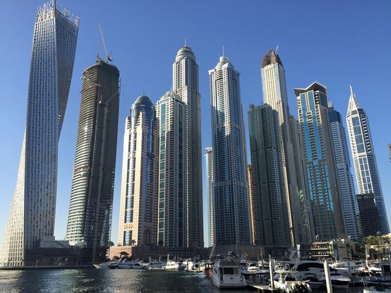 Dubai business district 780