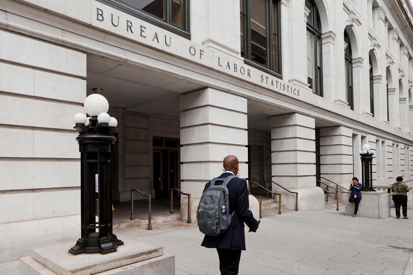 Bureau of Labor Statistics headquarters - Washington, DC USA