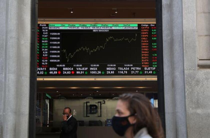 Brazil, B3, Bovespa, Stock exchange, Alamy, Sao Paulo, LatAm, 575