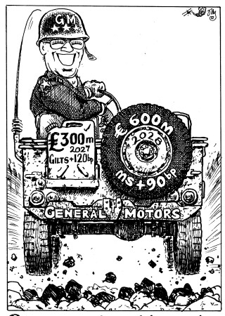 Reverse Yankee rides again. On the level (or better), General Motors smoothly!