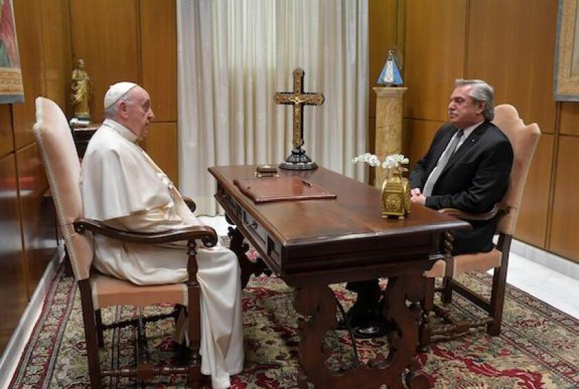 Pope, Catholic, Argentina, Alberto Fernandez, President, Paris Club, IMF, LatAm, 575