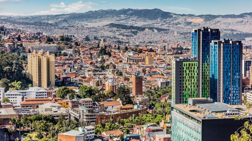 Bogota Skyline cityscape Colombia
