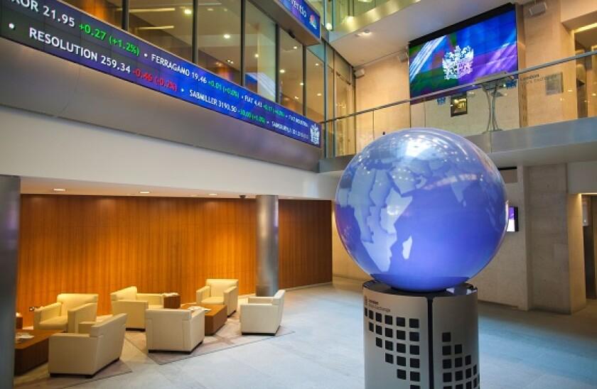 London Stock Exchange, Paternoster Square, London, England, UK