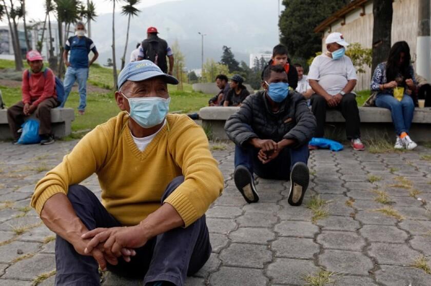 Ecuador coronavirus Latin America from PA 27Mar20 575x375