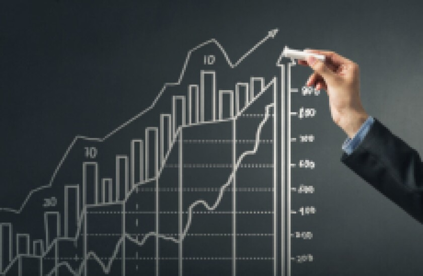 Return stock up index adobe stock positive