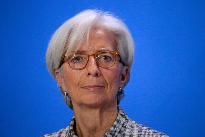 Christine Lagarde - Treffen der Bundeskanzlerin mit den Vorsitzenden internationaler Wirtschafts- und Finanzorganisationen, Bundeskanzleramt, 11. Maerz 2015, Berlin.