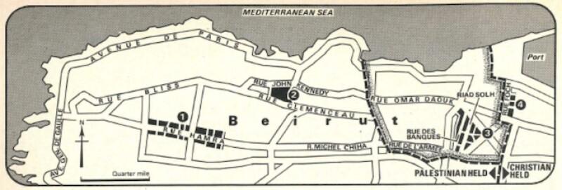 beirut map 680px