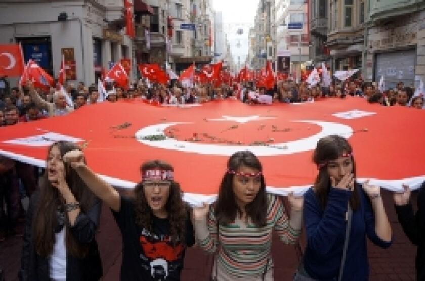 Turkey istanbul protest