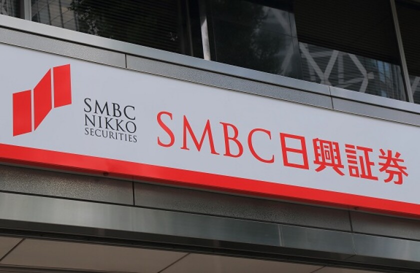 SMBC Nikko sign from Alamy 24Sep21 575x375