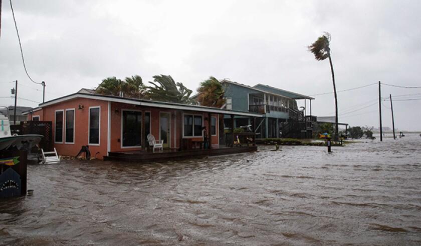 TX: Hurricane Hanna makes landfall