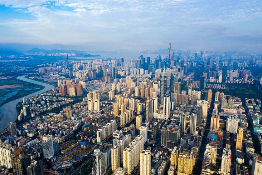 shenzhen city property adobe