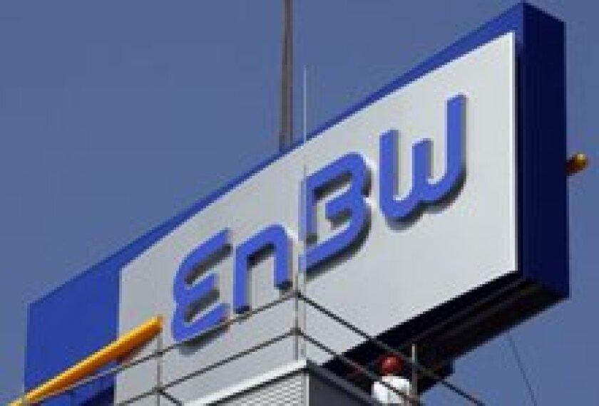 EnbW sign for new website