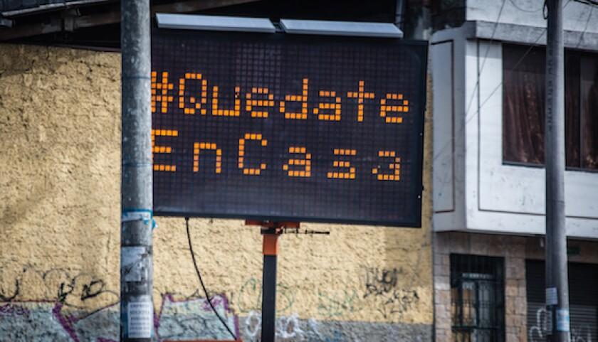 Ecuador, stay at home, quedate en casa, Covid-19, coronavirus, Quito, LatAm, 575