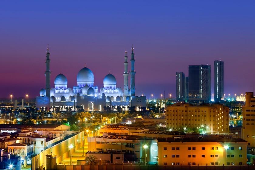 Abu Dhabi , Sheikh Zayed Mosque. Image shot 02/2019. Exact date unknown.