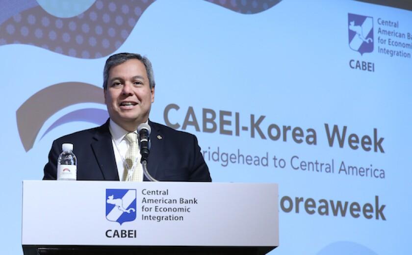 Dante Mossi, Cabei, Central America, LatAm, Honduras, Development Bank, Korea