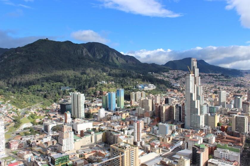 Bogota, Colombia, CAF, covid-19, 575, downtown, centro