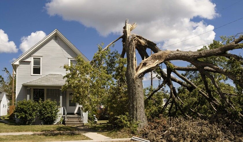 Storm Cleanup Continues in Eastern Iowa