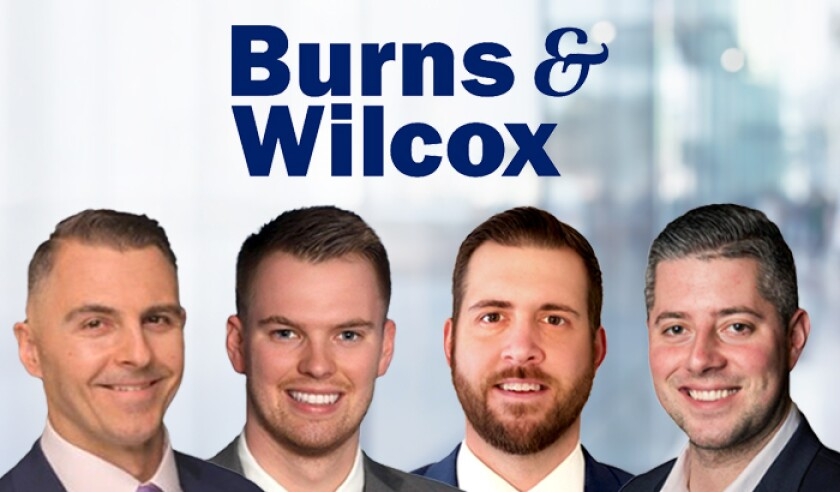 Burns and Wilcox logo with Arnold Sullivan O Connor and Ascenzo.jpg