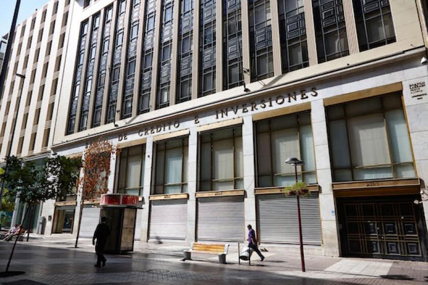 banco de credito e inversiones, bci, bank, Santiago de Chile, LatAm, 575