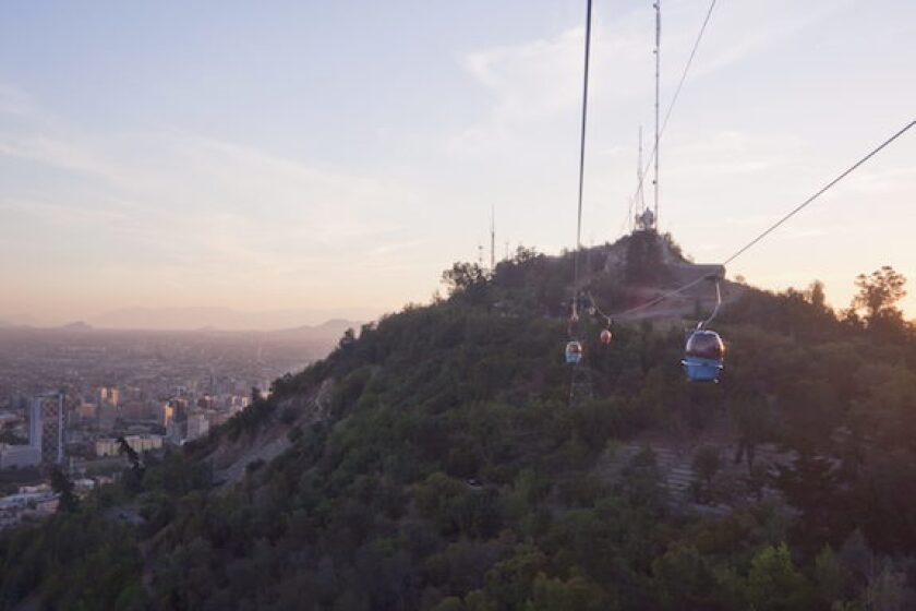 Chile, Santiago, cable car, VTR, LatAm, 575