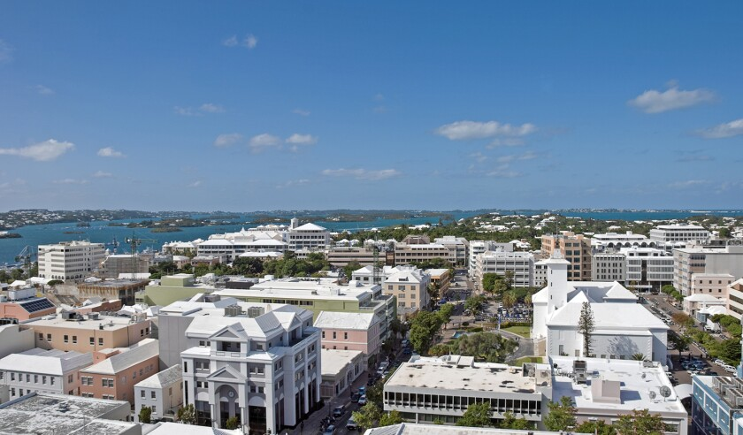 Hamilton, Bermuda, City View